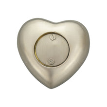 Always in my Heart Brother Silver Heart Brass Keepsake Urn