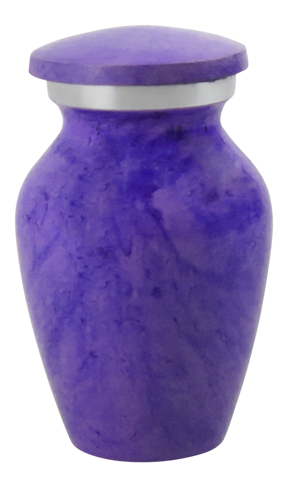 Miniature Lilac Marble Effect Keepsake Urn