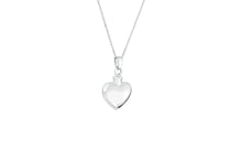 Sterling Silver Heart Cremation Urn Pendant