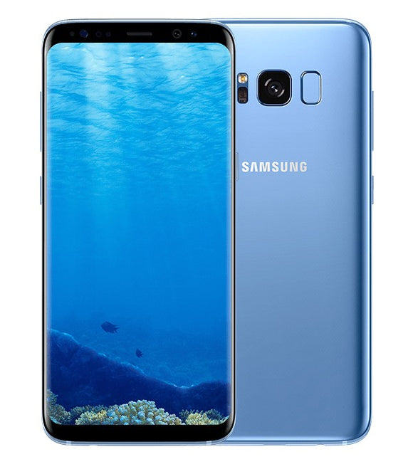 A Grade Samsung Galaxy S8 Single Sim 64GB - Coral Blue - Unlocked | 6 Month Warranty
