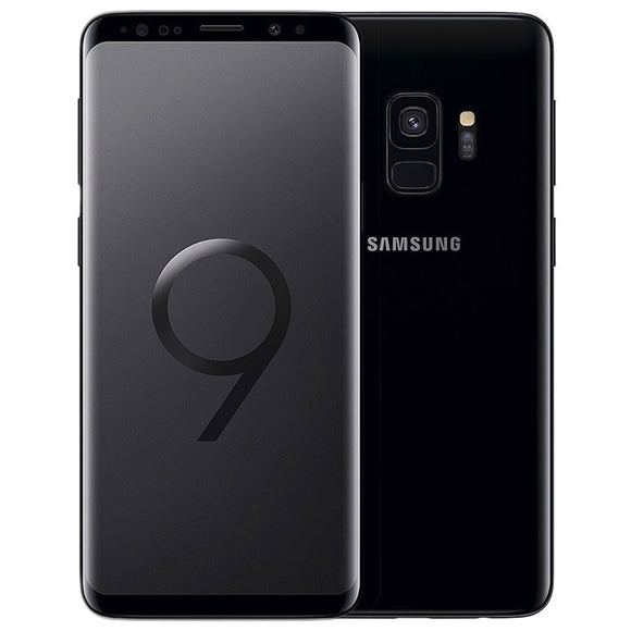 A Grade Samsung Galaxy S9 Dual Sim 256GB - Midnight Black - Unlocked | 6 Month Warranty