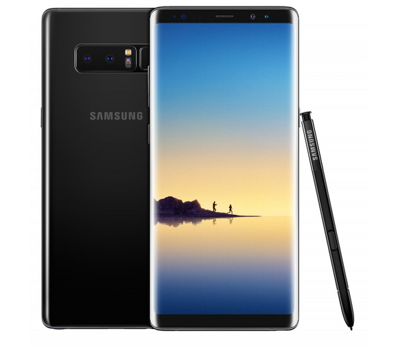 A Grade Samsung Galaxy Note 8 Dual Sim 128GB - Midnight Black - Unlocked | 6 Month Warranty