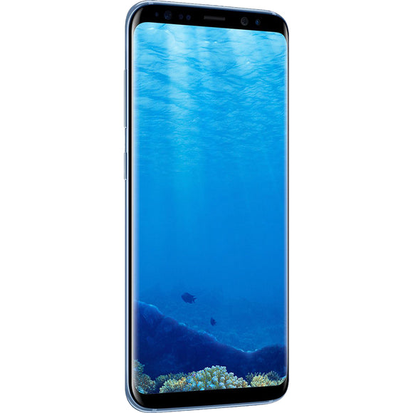 A Grade Samsung Galaxy S8 Plus 64GB - Coral Blue - Unlocked | 6 Month Warranty