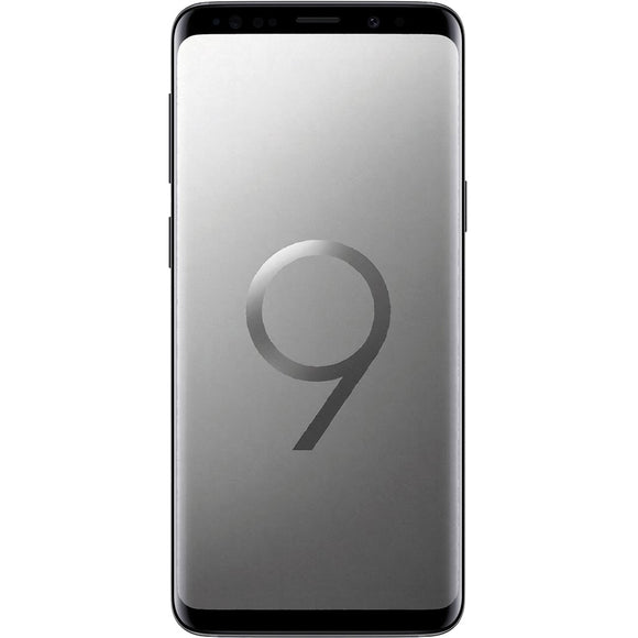 A Grade Samsung Galaxy S9 Single Sim 256GB - Titanium Gray - Unlocked | 6 Month Warranty