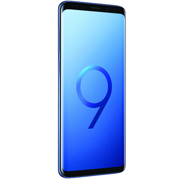 A Grade Samsung Galaxy S9 Plus Dual Sim 128GB - Coral Blue - Unlocked | 6 Month Warranty