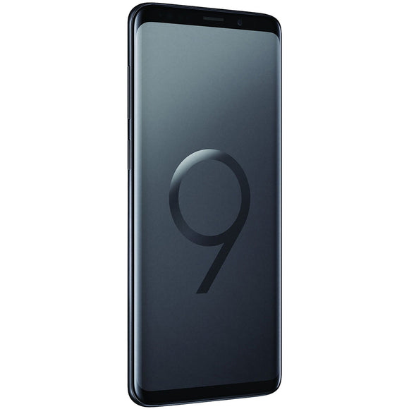 A Grade Samsung Galaxy S9 Plus Single Sim 64GB - Midnight Black - Unlocked | 6 Month Warranty