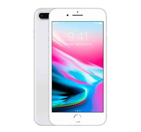 A Grade Apple iPhone 8 Plus 256GB - Silver - Unlocked | 3 Month Warranty - PreOwnedPhones