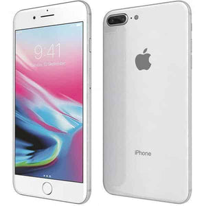 A Grade Apple iPhone 8 Plus 64GB - Silver - Unlocked | 3 Month Warranty - PreOwnedPhones