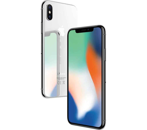A Grade Apple iPhone X 256GB - Silver - Unlocked | 3 Month Warranty - PreOwnedPhones