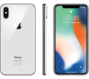 A Grade Apple iPhone X 64GB - Silver - Unlocked | 3 Month Warranty - PreOwnedPhones