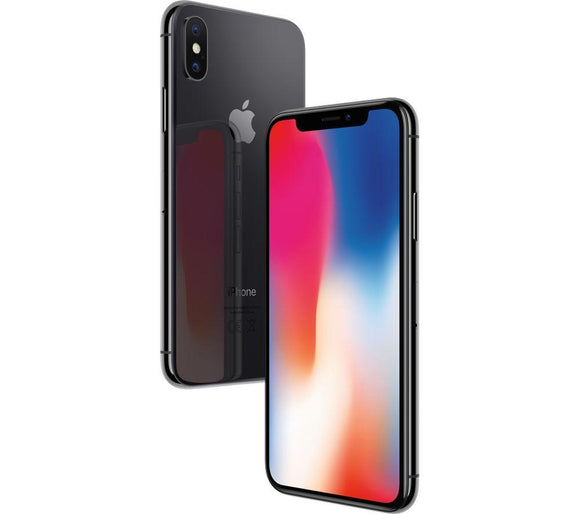 A Grade Apple iPhone X 64GB - Space Grey - Unlocked | 3 Month Warranty - PreOwnedPhones