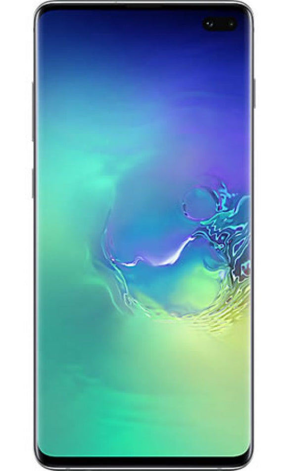A Grade Samsung Galaxy S10 Plus Dual Sim 128GB - Prism Green - Unlocked | 6 Month Warranty