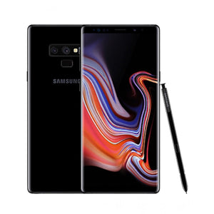 A Grade Samsung Galaxy Note 9 Single Sim 128GB - Midnight Black - Unlocked | 6 Month Warranty