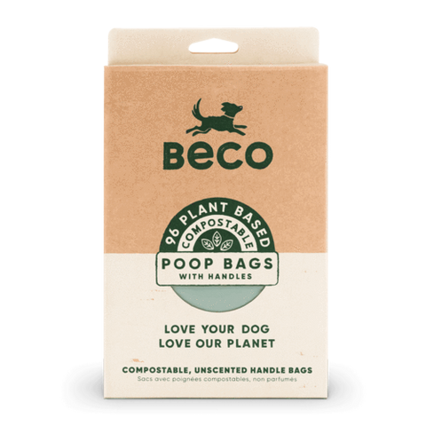 BECO Eco Poop Bags with Handles 120pk