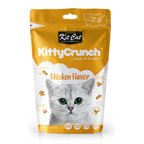 Kit Cat Kitty Crunch Treat Chicken 60g
