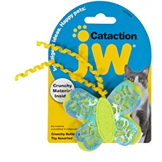 JW Cataction Crunchy Butterfly