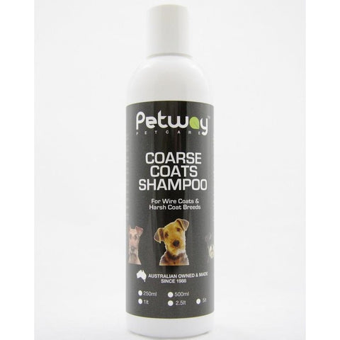 Petway Coarse Coat Shampoo 250mL