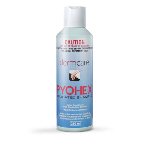 Pyohex Medicated Shampoo 250mL