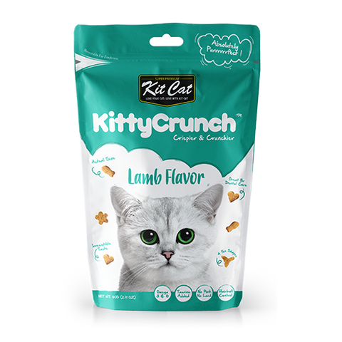 Kit Cat Kitty Crunch Treat Lamb 60g