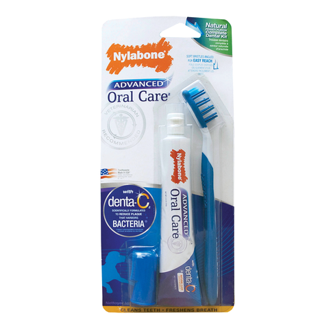 Nylabone Oral Care Canine Dental Kit