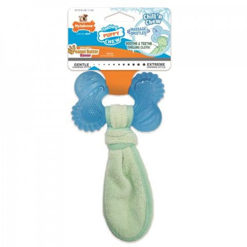 Nylabone Puppy Freeze Bone & Cloth