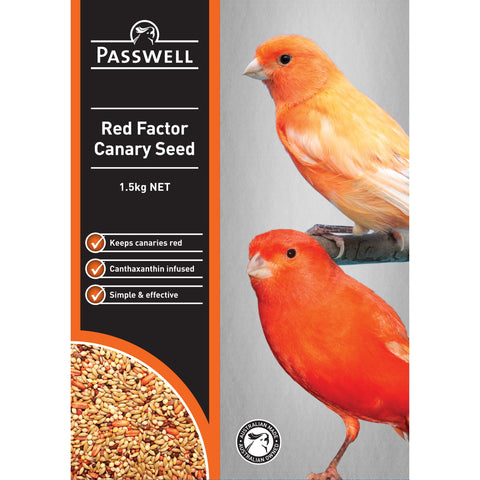 Passwell Canary Red Factor 1.5kg