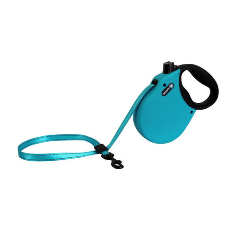 Alcott Retract Tape Leash 5m Blue