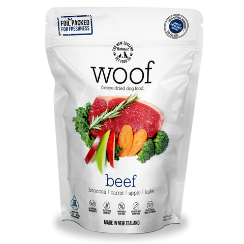 Woof Freeze Dried Beef