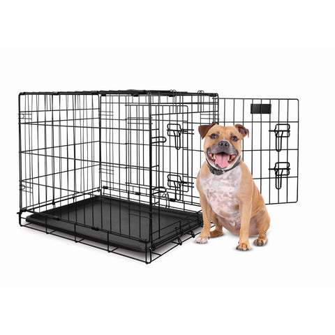 YD Dog Crate Double Door