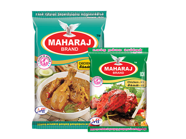 Maharaj Chicken Masala + Chicken 65 Masala