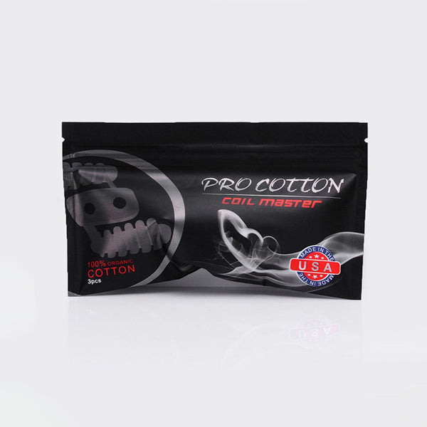Coil Master Pro Cotton Made in USA
