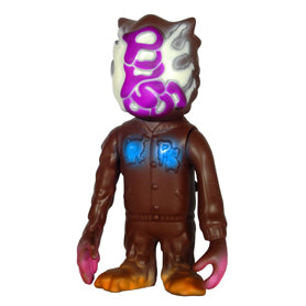 RxH Popsoda Brown 7 Inch Kaiju Vinyl Toy