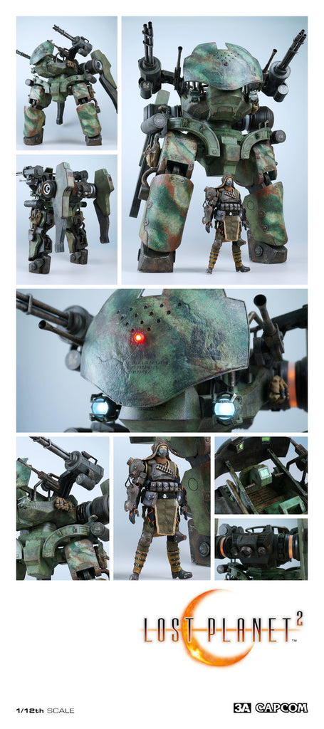 LOST PLANET 2 GTF-11 DRIO Figure ThreeA