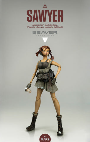 BEAVER INDUSTRIES  SAWYER 1/6 Scale