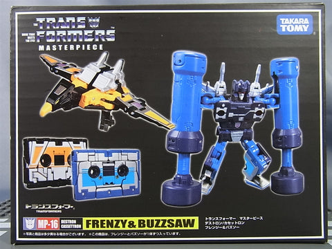 Transformers Masterpiece MP-19 Frenzy and Buzzsaw