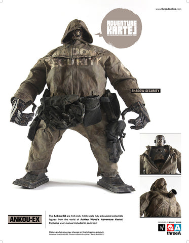 Ankou-EX Shadow Security 1/6 Scale figure ThreeA