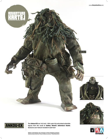 Ankou-EX COSD 1/6 Scale Adventure Kartel Figure ThreeA