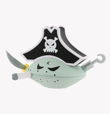 Frank Kozik Big Monger Captain Blood 6-Inch by Kidrobot