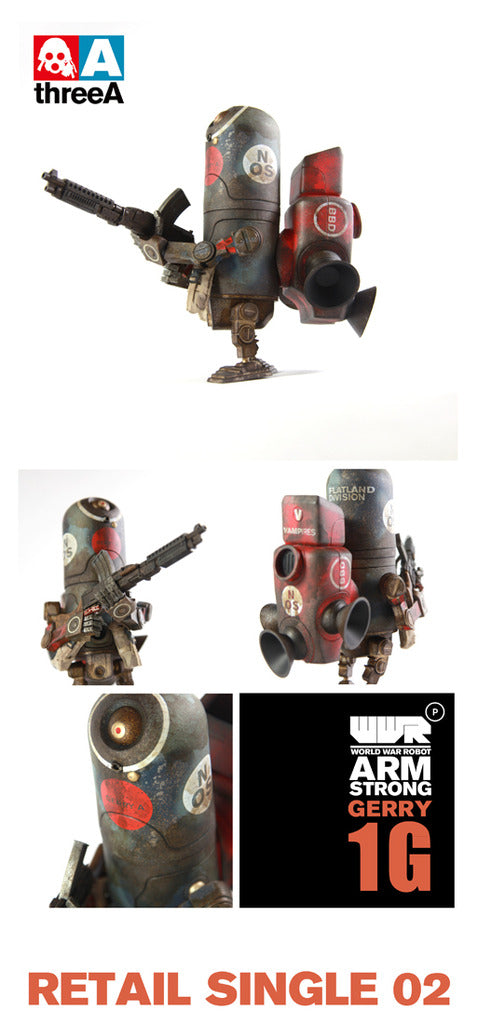 Gerry 1G Armstrong WWRp ThreeA 3A