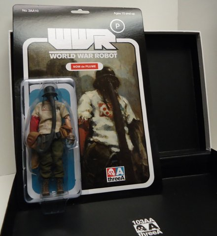 Nom de Plume WWRp World War Robot by Ashley Wood ThreeA