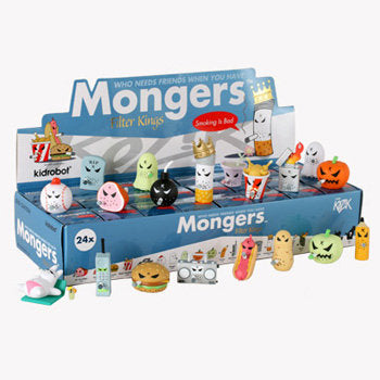 Smorkin' Mongers Filter Kings Mini Series 2-Inch by Frank Kozik