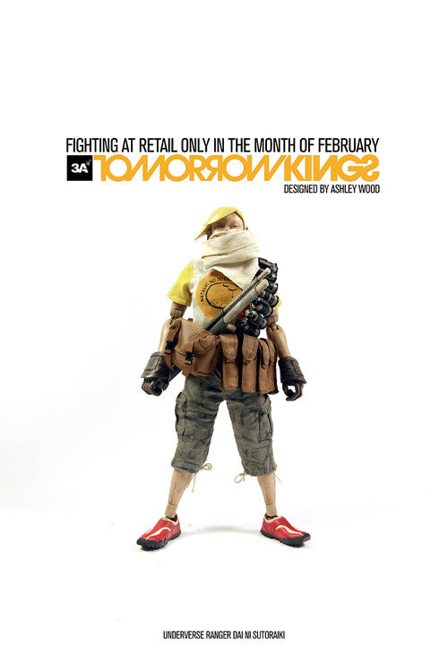 THREEA UNDERVERSE RANGER DAI NI SUTORAIKI (Yellow)1/6 Scale Figure 3A TOMORROW KINGS