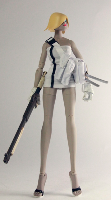 Vanilla Pod Tomorrow Queen Popbot from ThreeA 1/6th