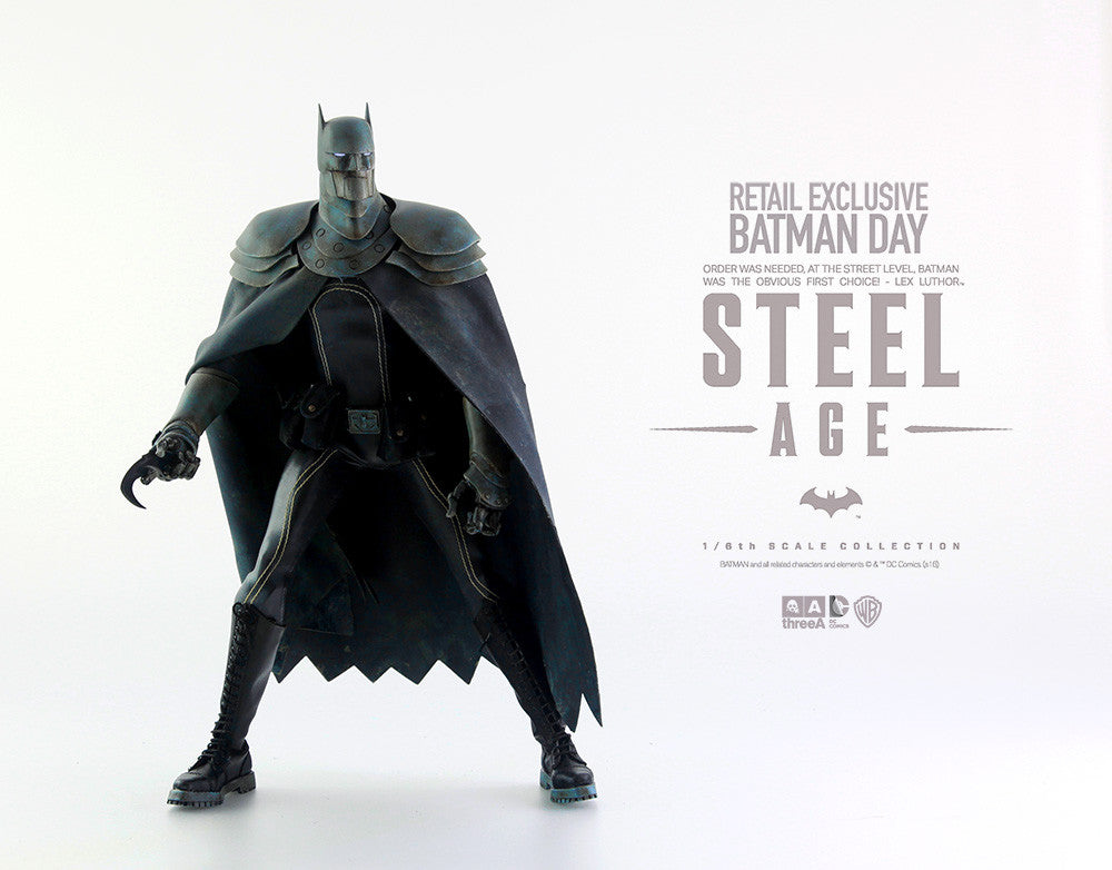 Batman Steel Age Day Colorway from ThrreeA 1/ 6 th scale