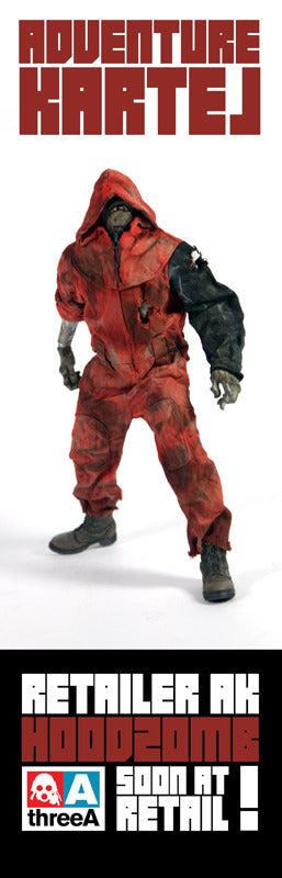 Hood Zomb Red Adventure Kartel ThreeA 3A