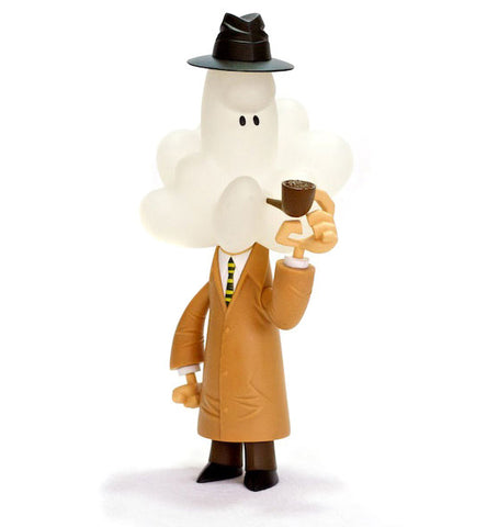 Inspector Cumulus 8 Inch Vinyl Toy from Crazy label