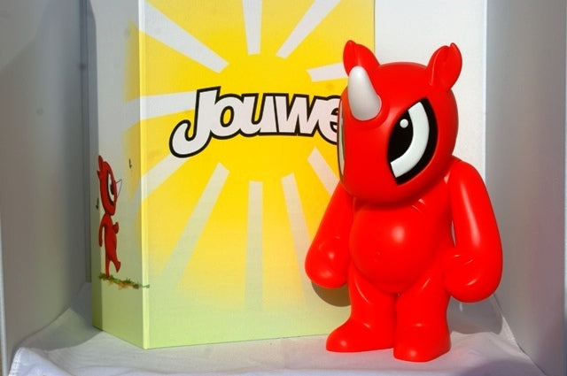"Jouwe Red Rhino 10"" inch by My Tummy Toys view1"