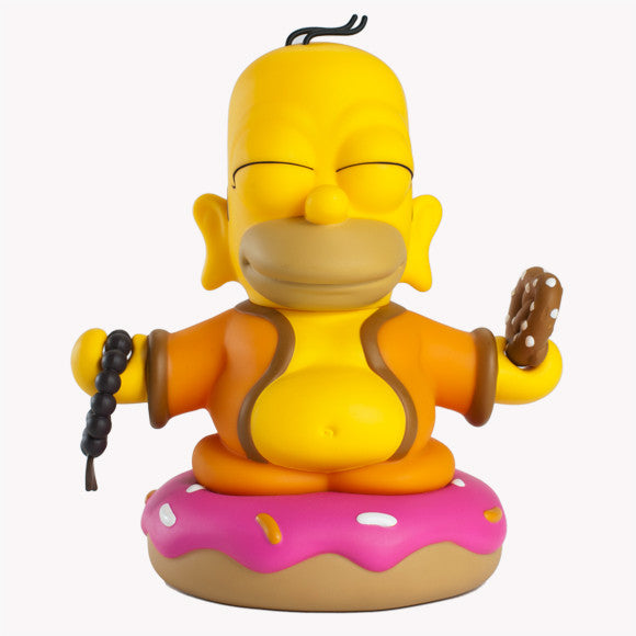 Homer Buddha in 7-inch vinyl by Kidrobot
