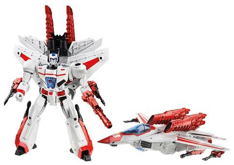 TRANSFORMERS 30TH ANNIVERSARY JETFIRE LEADER CLASS ACTION FIGURE