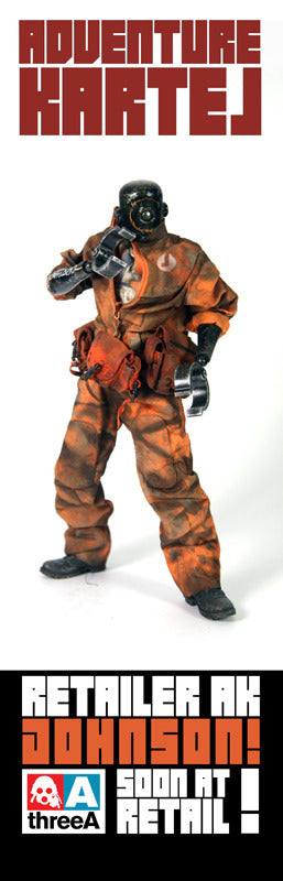 Johnson! Ankou Adventure Kartel ThreeA 3A